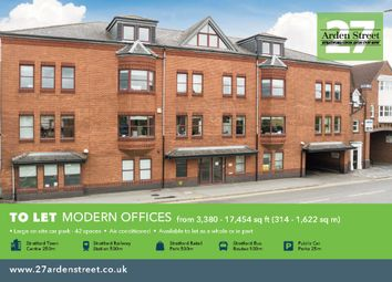 Thumbnail Office to let in Arden Street, Stratford Upon Avon