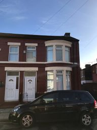 Thumbnail 3 bed end terrace house to rent in Eastdale Road, Liverpool