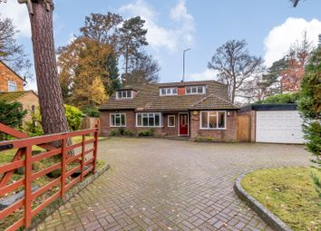 Thumbnail 4 bed detached house for sale in Norfolk Farm Road, Pyrford, Woking