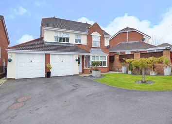 Thumbnail 4 bed detached house for sale in Elsham Close, Bolton
