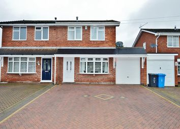 Thumbnail 3 bed semi-detached house for sale in Lapwing Close, Cheslyn Hay, Walsall