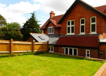 Thumbnail 3 bedroom property for sale in Long Parish Road, Hurstbourne Priors, Whitchurch