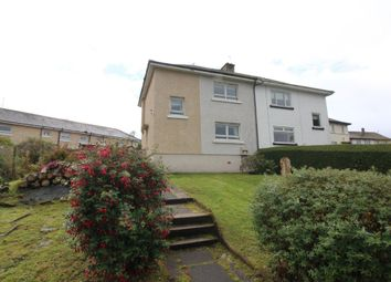 Thumbnail 3 bed semi-detached house for sale in 25 Burnside Avenue, Port Glasgow