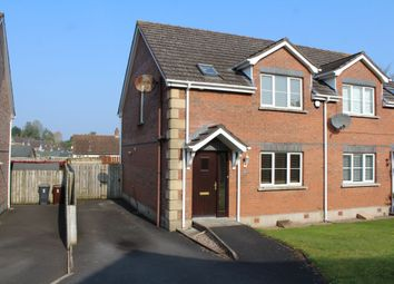 Thumbnail 3 bedroom semi-detached house to rent in Johnston Park Gransha Road, Dundonald, Belfast