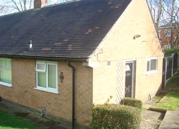 Thumbnail 1 bed bungalow to rent in Marldon Close, Bilborough, Nottingham