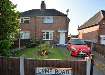 Thumbnail Semi-detached house for sale in Orme Road, Newcastle