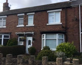 Thumbnail 2 bedroom terraced house for sale in Milburn Road, Ashington