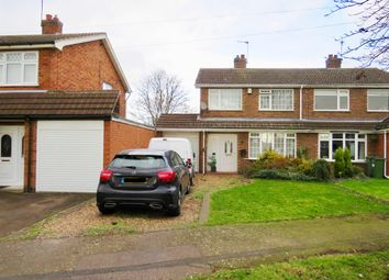 Thumbnail 3 bed semi-detached house for sale in Curtis Close, Whetstone, Leicester
