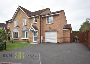 Thumbnail 4 bed semi-detached house for sale in Kennett Drive, Farington, Leyland
