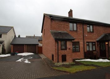 Thumbnail 2 bed end terrace house to rent in Blackfriars Court, Llanfaes, Brecon