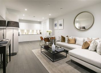 Thumbnail 1 bed flat for sale in Xy Apartments, 9A York Way, London