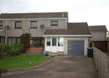 Thumbnail 3 bed semi-detached house for sale in Pinkie Gardens, Newmachar, Aberdeen