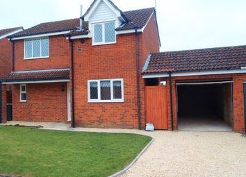 Thumbnail 3 bed detached house to rent in Volpe Close, Grange Park, Swindon