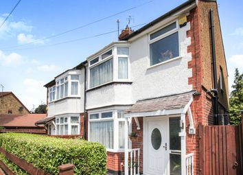 Thumbnail 3 bed semi-detached house to rent in Evelyn Road, Dunstable