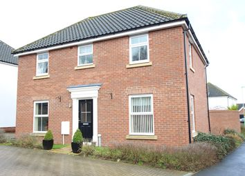 Thumbnail 4 bed detached house for sale in De Saumarez Drive, Barham, Ipswich, Suffolk