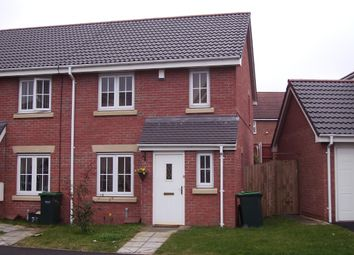 Thumbnail 3 bedroom end terrace house for sale in Monkgate Drive, West Bromwich