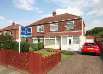 Thumbnail 3 bed semi-detached house for sale in Glendale Road, Tollesby, Middlesbrough