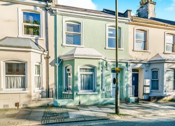 Thumbnail 5 bedroom terraced house for sale in Wilton Street, Stoke, Plymouth