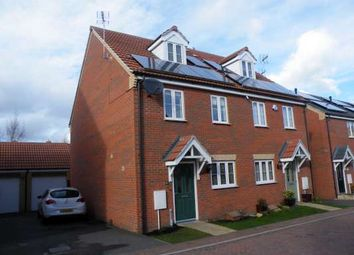 Thumbnail 4 bedroom semi-detached house to rent in Whitby Avenue, Eye, Peterborough