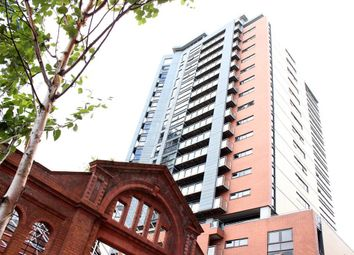 Thumbnail 1 bed flat to rent in Tempus Tower, Mirabel Street, Manchester