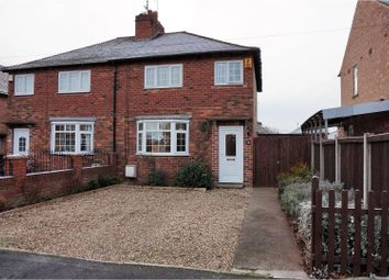 Thumbnail 2 bed semi-detached house for sale in King Edward Road, Doncaster