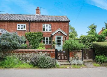 Thumbnail 2 bedroom cottage for sale in Stacksford, Old Buckenham, Attleborough