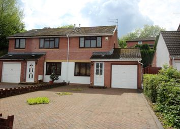 Thumbnail 2 bed semi-detached house to rent in Gifford Close, Two Locks, Cwmbran
