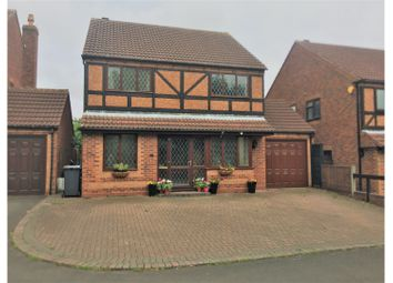Thumbnail 4 bedroom detached house for sale in Walkers Way, Coleshill