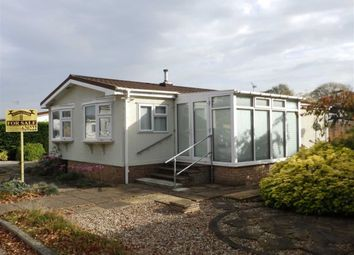 Thumbnail 2 bedroom mobile/park home for sale in St. Gotthards Avenue, Martlesham Heath, Ipswich