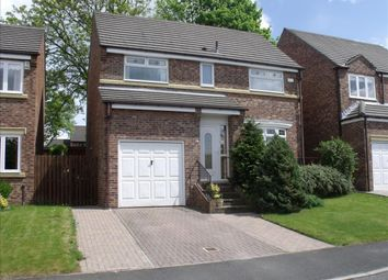 Thumbnail 4 bedroom detached house for sale in Longlands Drive, Houghton Le Spring