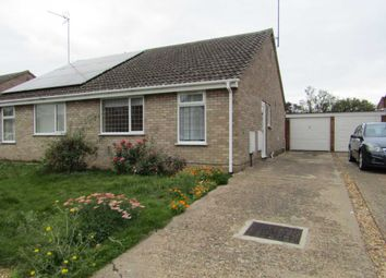 Thumbnail 2 bed semi-detached bungalow for sale in Windsor Drive, Wisbech