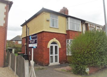 Thumbnail 3 bed semi-detached house to rent in Cadley Causeway, Fulwood, Preston