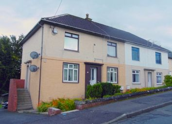 Thumbnail 2 bed flat for sale in Broom Crescent, Ochiltree, East Ayrshire