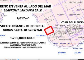 Thumbnail Land for sale in Costa Del Silencio, Costa Del Silencio, Tenerife, Canary Islands, Spain
