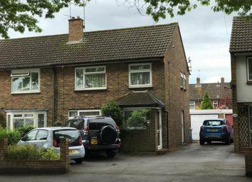 Thumbnail 3 bed semi-detached house for sale in Oak Tree Close, Aldershot