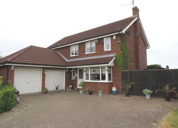Thumbnail 4 bed detached house for sale in Haven Close, Fleet, Spalding