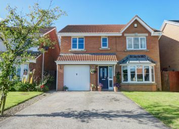 Thumbnail 4 bed detached house for sale in Holwick Close, Consett
