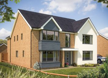 "Thumbnail 5 bed detached house for sale in ""The Ascot"" at Fields Road, Wootton, Bedford"