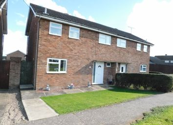 Thumbnail 3 bed semi-detached house for sale in Gainsborough Road, Stowmarket