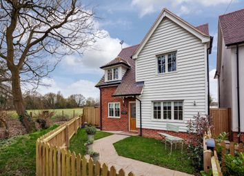 Thumbnail 4 bedroom detached house for sale in Belchamp St Paul, Sudbury, Suffolk