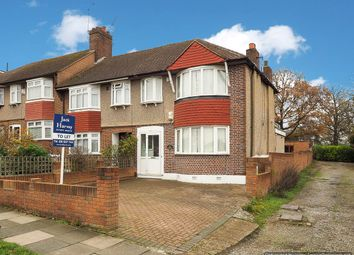 Thumbnail 3 bed end terrace house to rent in Hillcross Avenue, Morden