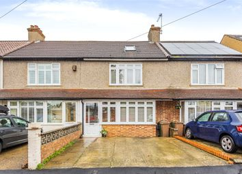 Thumbnail 3 bed terraced house for sale in Hamilton Avenue, Cheam, Sutton