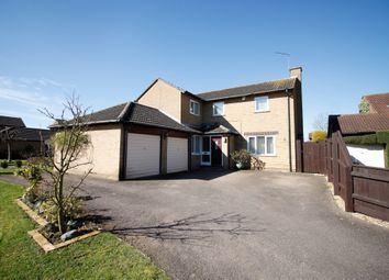 Thumbnail 5 bed detached house for sale in Goodwood Road, Bretton, Peterborough