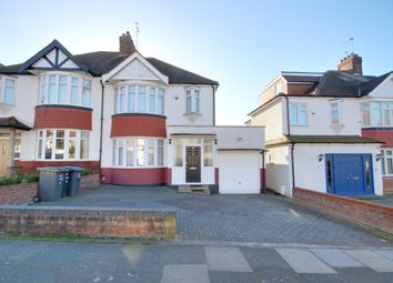 Thumbnail 3 bedroom semi-detached house for sale in Oakwood Crescent, Winchmore Hill