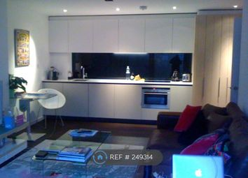 Thumbnail 1 bed flat to rent in Wharf Road, London