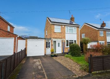 Thumbnail 3 bed detached house for sale in Lynmouth Drive, Wigston, Leicester