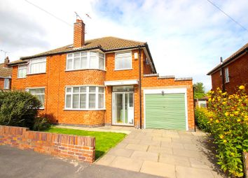 Thumbnail 3 bed semi-detached house for sale in Armson Avenue, Kirby Muxloe, Leicester