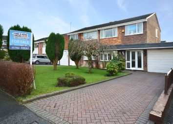 Thumbnail 3 bed semi-detached house for sale in Minard Grove, Parkhall, Stoke-On-Trent