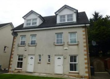 Thumbnail 3 bedroom town house for sale in Crookdyke Court, Gowan Brae, Caldercruix, Airdrie
