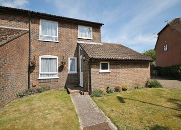 Thumbnail 3 bed end terrace house for sale in Swan Close, Storrington, Pulborough